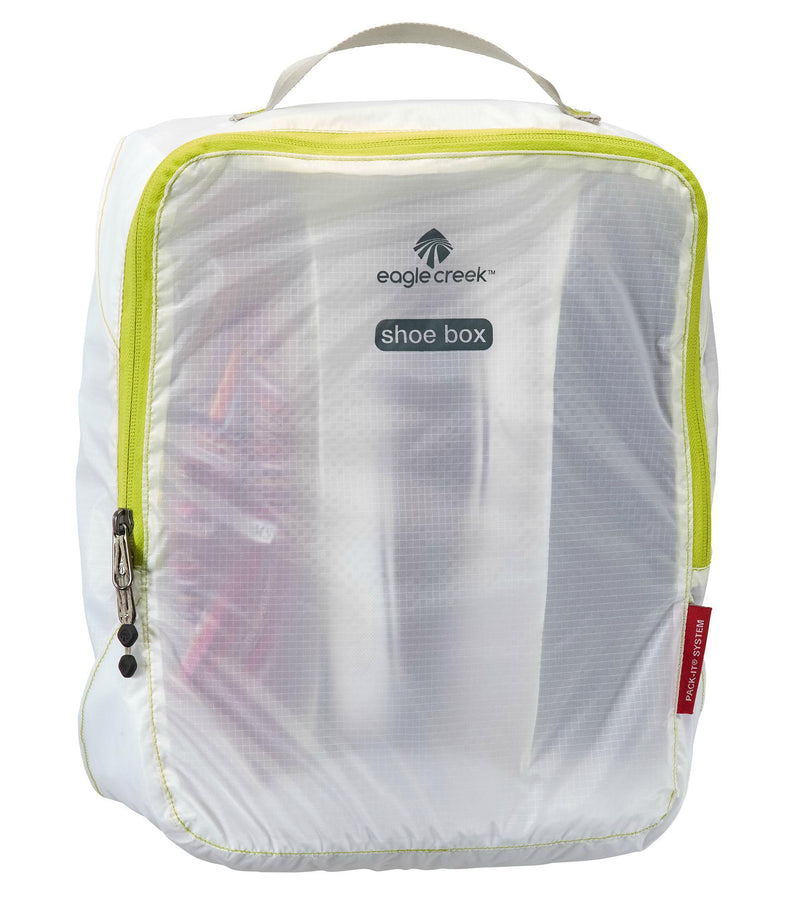 Eagle Creek Pack-It Specter Multi-Shoe Cube - White/Strobe-Luggage Pros