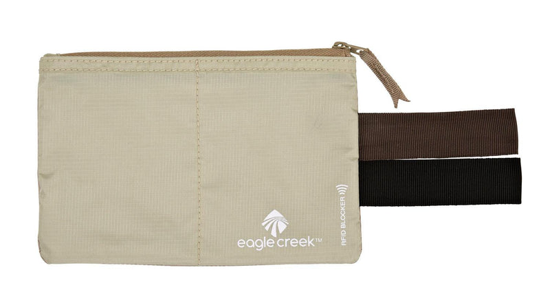 Eagle Creek RFID Blocker Hidden Pocket - Tan-Luggage Pros