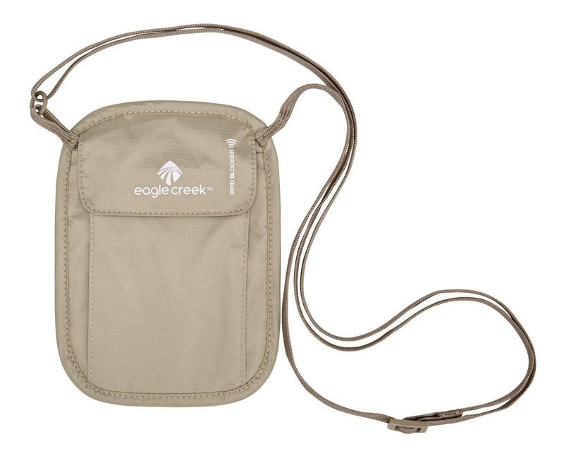 Eagle Creek RFID Blocker Neck Wallet - Tan-Luggage Pros