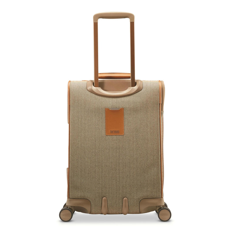 Hartmann Herringbone Deluxe Domestic Carry On Expandable Spinner-Luggage Pros