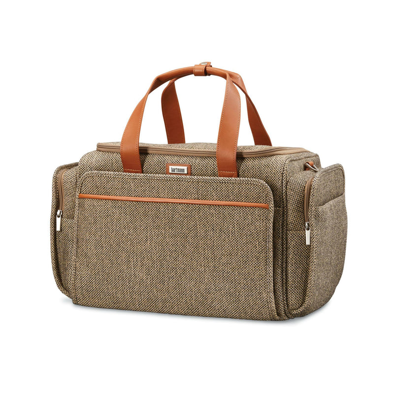 Hartmann Tweed Legend Travel Duffel - Natural Tweed-Luggage Pros