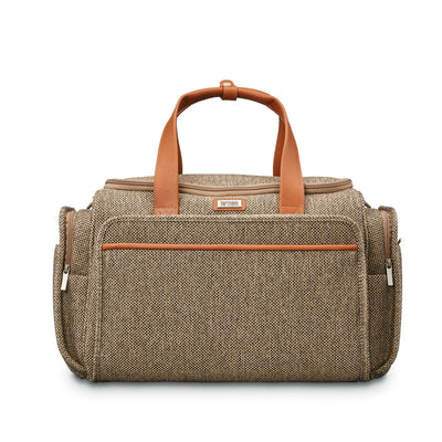 Hartmann Tweed Legend Travel Duffel - Natural Tweed