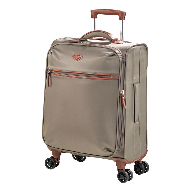 Jump Paris Nice Expandable Carry-On Dual Spinner Suitcase-Luggage Pros