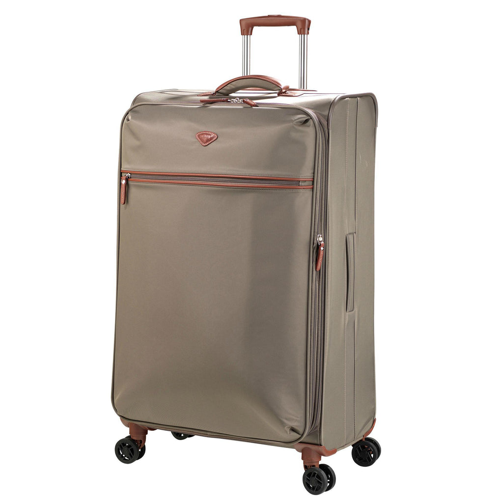 Jump Paris Nice Large Expandable Dual Spinner Suitcase