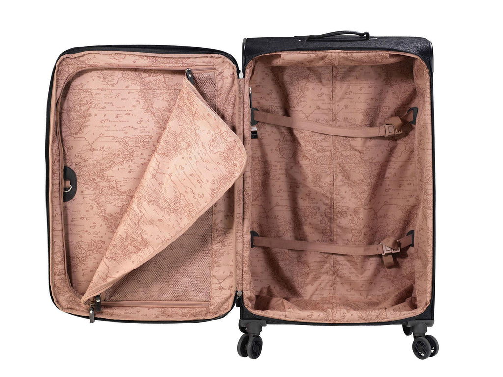 Jump Paris Solera Large Expandable Spinner Packing Suitcase