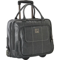 "Kenneth Cole Reaction Casual Fling ""It's Wheel-Y Late"" Rolling Laptop Case"