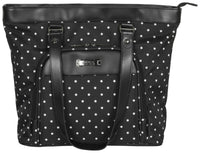 "Kenneth Cole Reaction Dot Matrix 15.6"" Computer Shopping Tote"