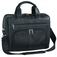 "Kenneth Cole Reaction ""Out Of The Bag"" Expandable Double Gusset Top-Zip Portfolio/Computer Case"