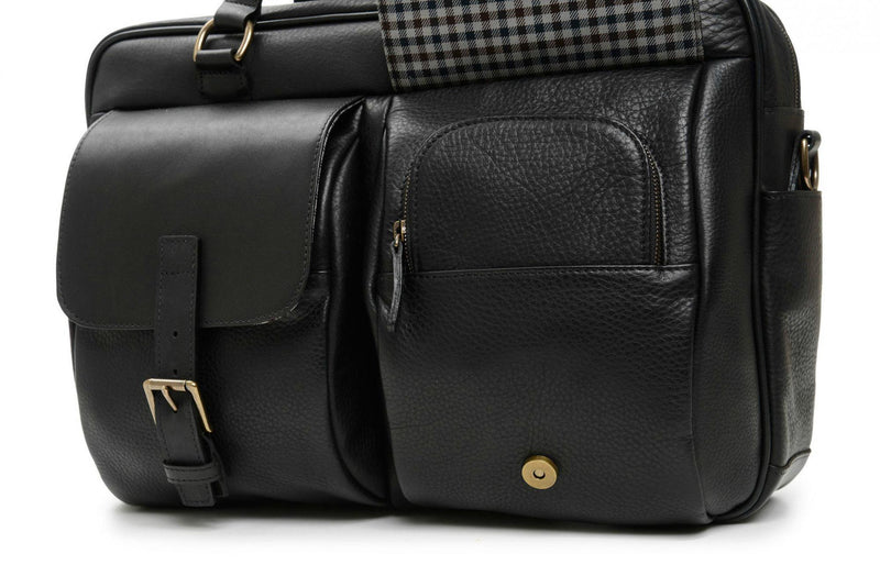 Korchmar La Romana Barton Laptop Briefcase-Luggage Pros