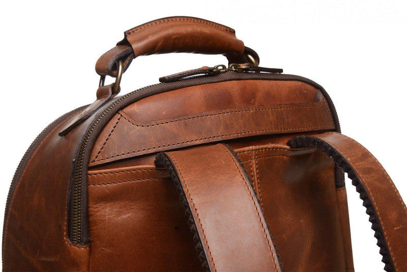 Korchmar Lewis Leather Backpack - Espresso-Luggage Pros