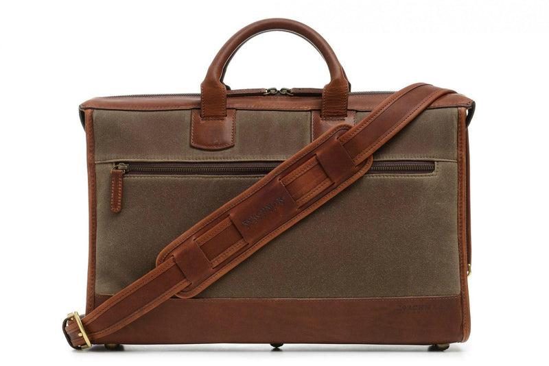 Korchmar Sawyer Slim Laptop Briefcase-Luggage Pros