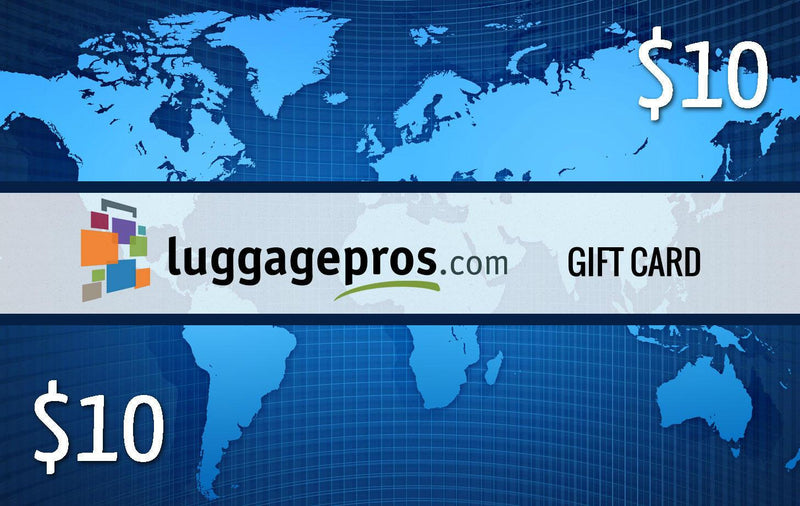 Luggage Pros Gift Certificate $10-Luggage Pros