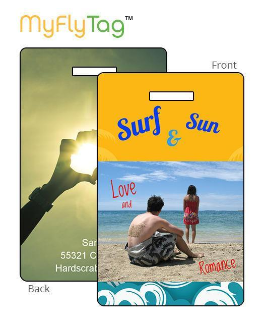 MyFly Tag Personalized Luggage Tags