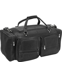 "Piel 24"" Duffel with Pockets"
