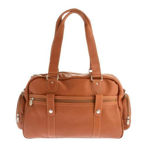 Piel Leather Adventurer Carry-On Satchel-Luggage Pros