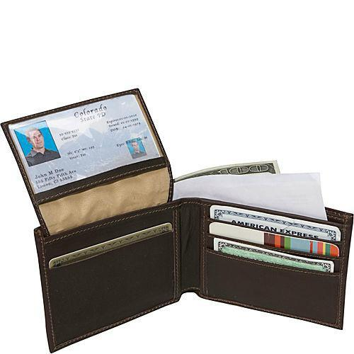 Piel Leather Bi-Fold Wallet-Luggage Pros