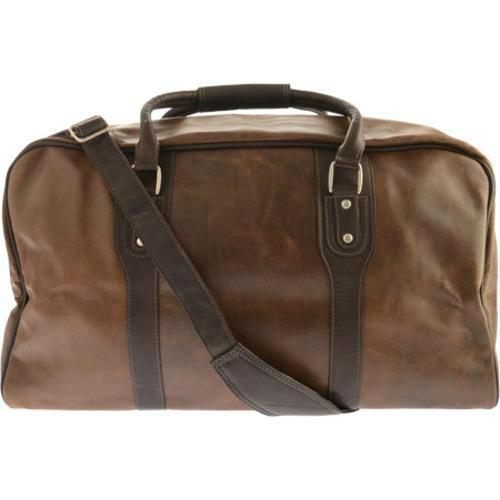 Piel Leather Classic Vintage Zip-Down Duffel-Luggage Pros
