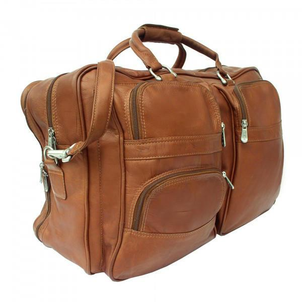 Piel Leather Complete Carry-All Bag-Luggage Pros