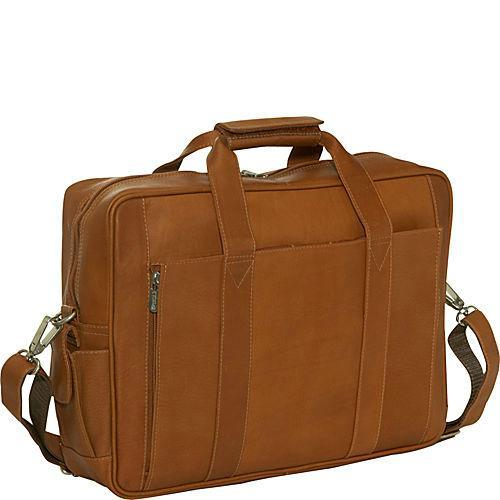 Piel Leather Computer Briefcase-Luggage Pros