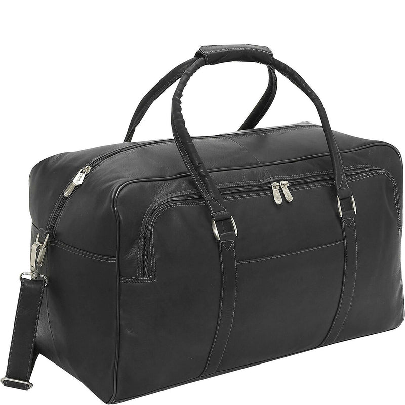 Piel Leather Half-Moon Duffel-Luggage Pros