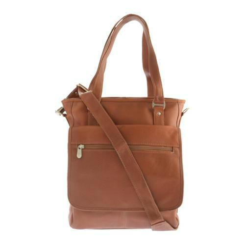 Piel Leather Laptop/Tablet Carry-All Tote-Luggage Pros
