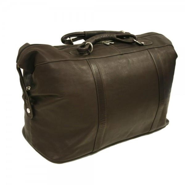 Piel Leather Large Carry-On Satchel-Luggage Pros