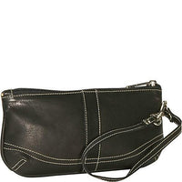 Piel Leather Large Ladies Wristlet