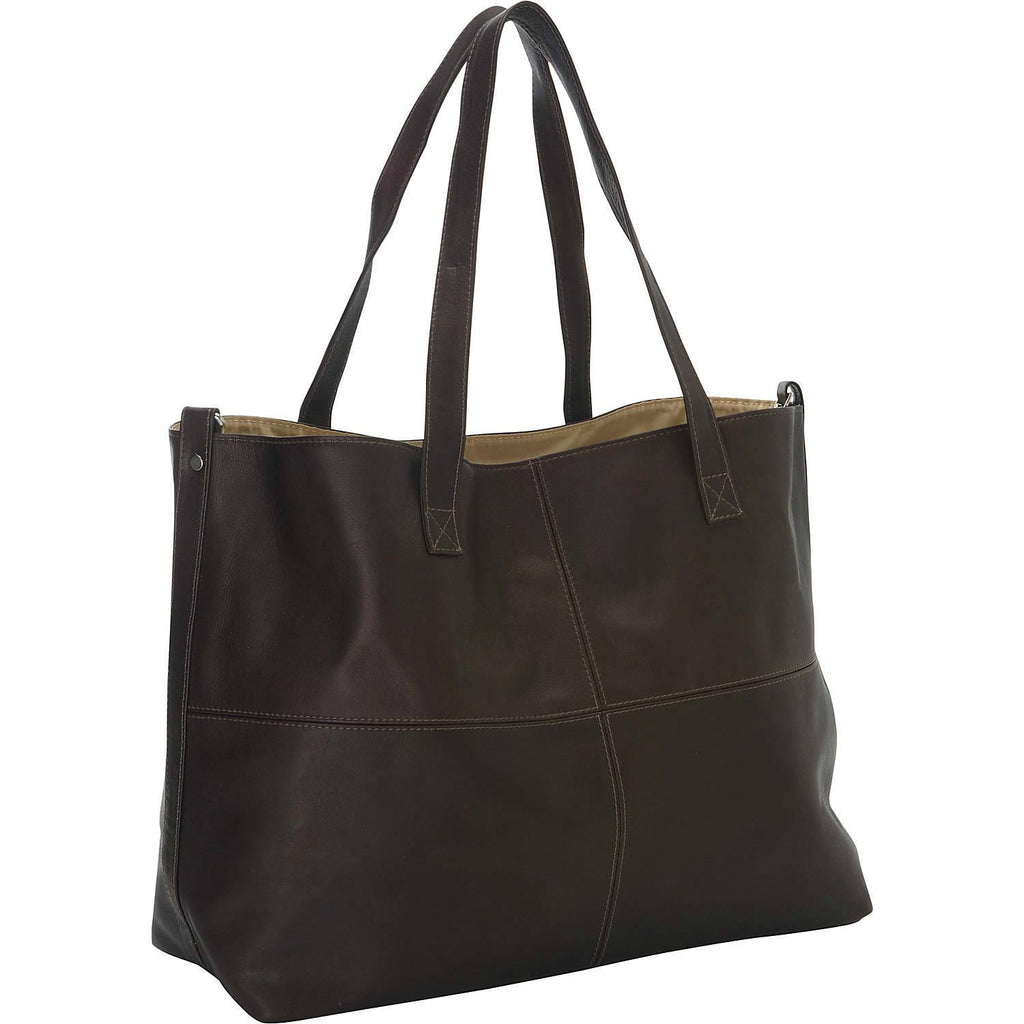 Piel Leather Large Open Multi-Purpose Tote