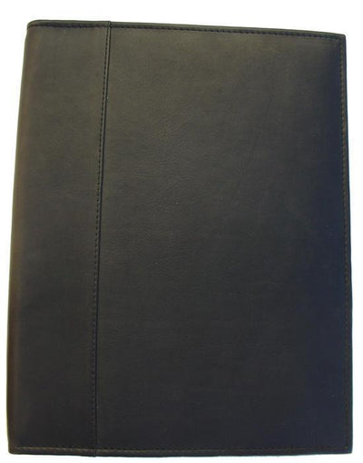 Piel Leather Letter-Size Padfolio with Organizer