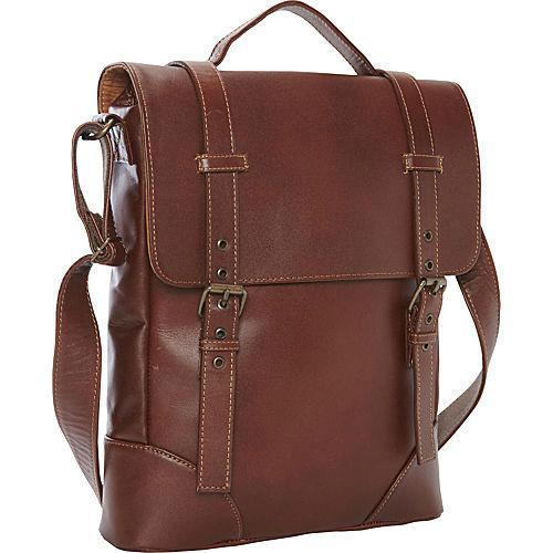 Piel Leather Mayan Deluxe Vertical Briefcase-Luggage Pros