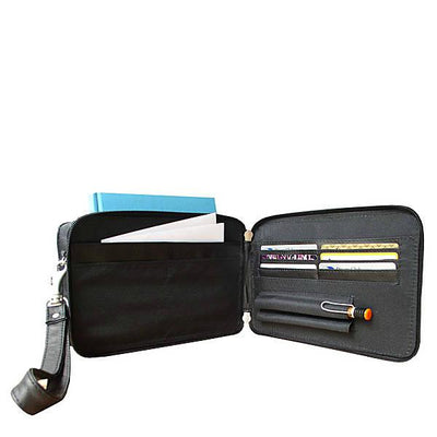 Piel Leather Organizer Bag