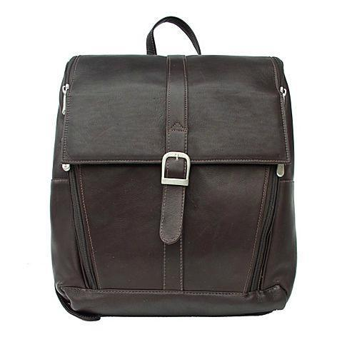 Piel Leather Slim Computer Backpack-Luggage Pros