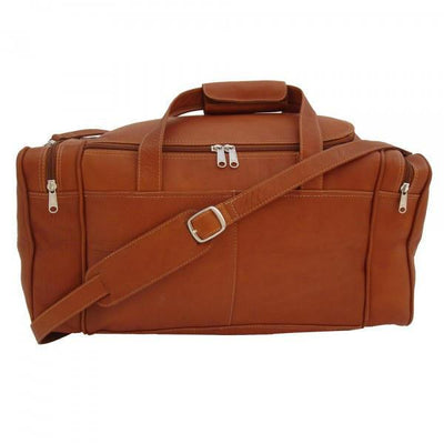 Piel Leather Small Duffel Bag