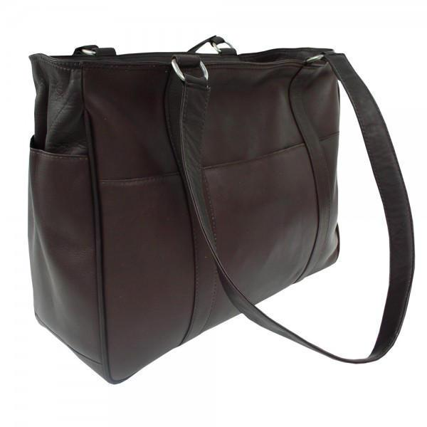 Piel Leather Small Shopping Bag-Luggage Pros