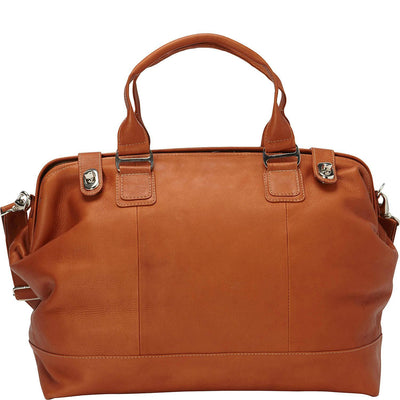Piel Leather Top Frame Carry-On