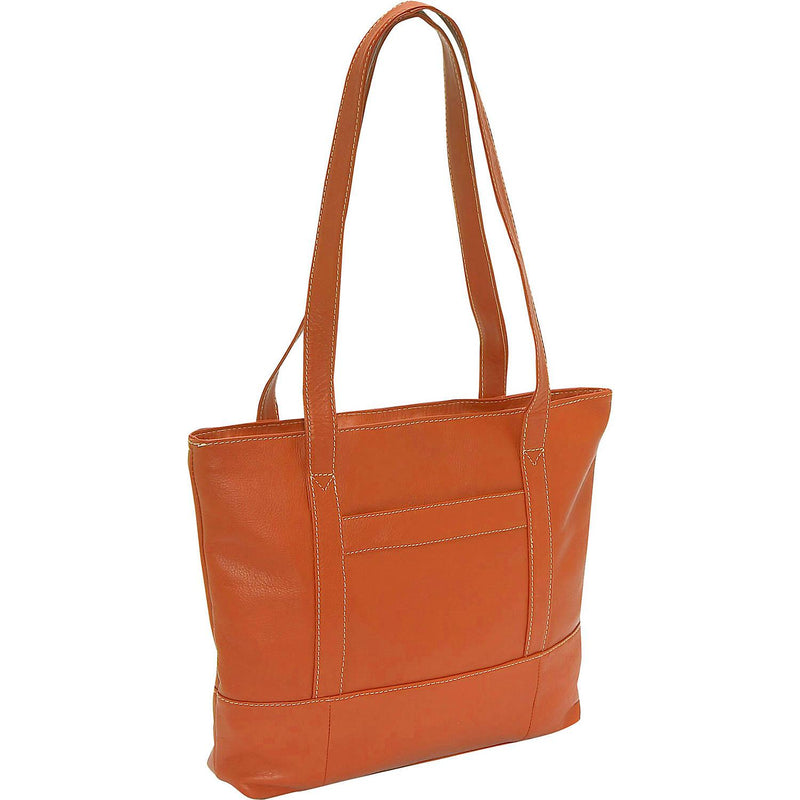 Piel Leather Top-Zip Tote-Luggage Pros