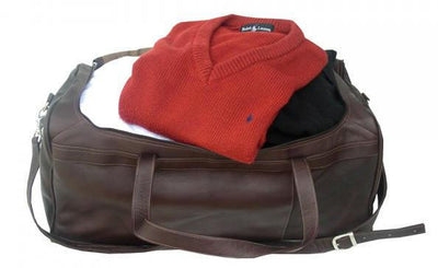 Piel Leather Traveler's Select Medium Duffel Bag