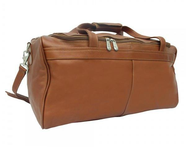 Piel Leather Traveler's Select Small Duffel Bag-Luggage Pros