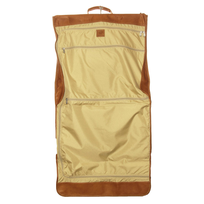 Piel Leather Tri-Fold Garment Bag-Luggage Pros