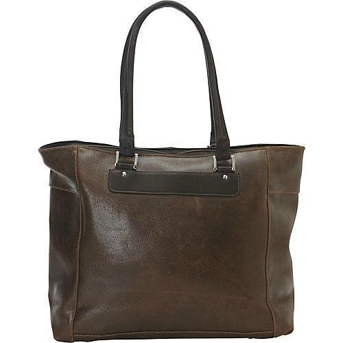 Piel Leather Vintage Executive Tote-Luggage Pros