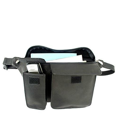 Piel Leather Waist Bag With Phone Pocket-Luggage Pros