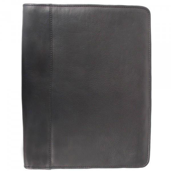 Piel Leather Zippered Padfolio-Luggage Pros