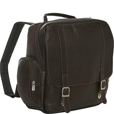 Piel Vertical Backpack
