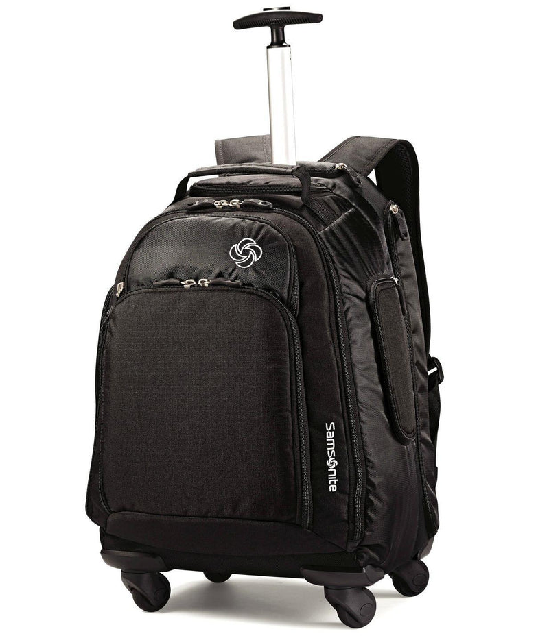 Samsonite MVS Spinner Backpack-Luggage Pros