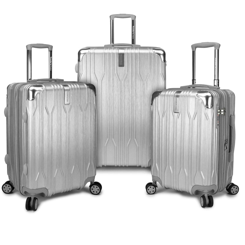 Traveler's Choice Bell Weather Expandable 3-Piece Spinner Luggage Set-Luggage Pros