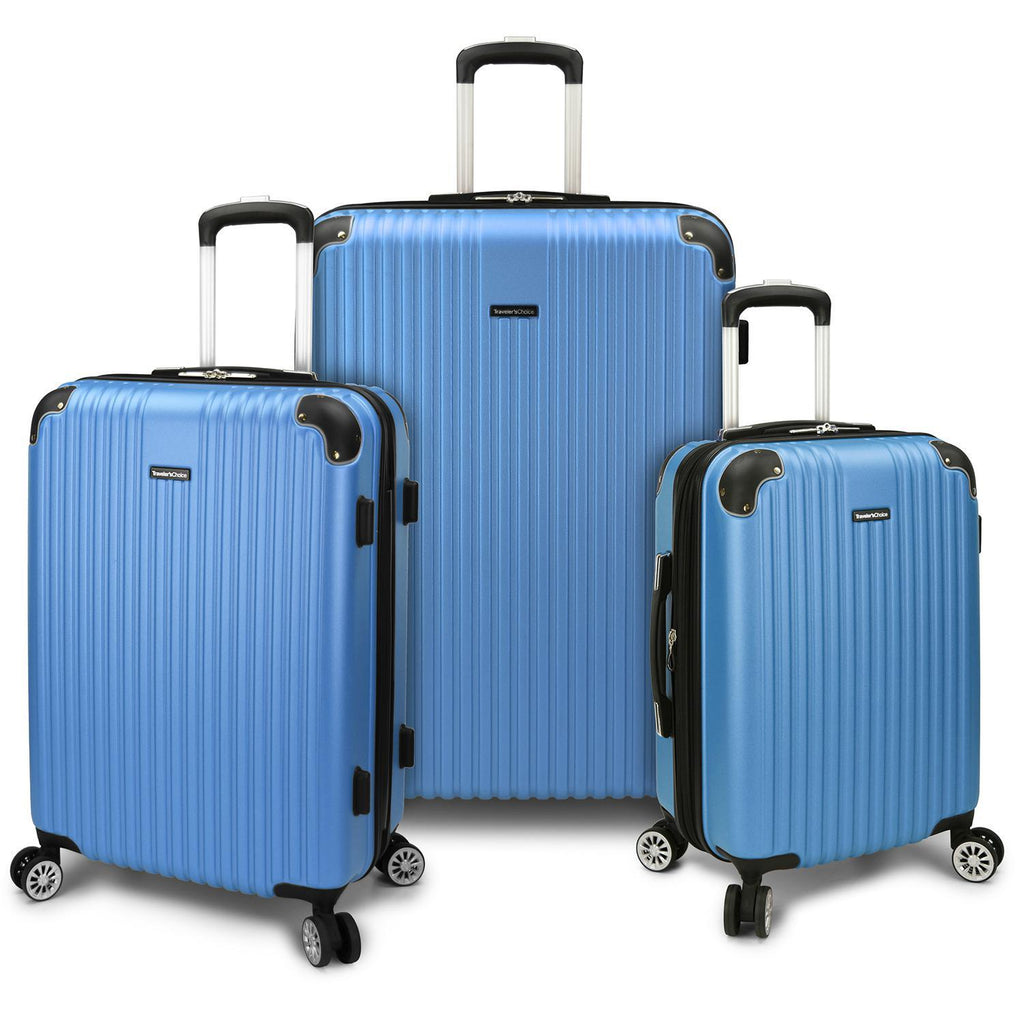 Traveler's Choice Charvi Expandable Spinner Luggage Set