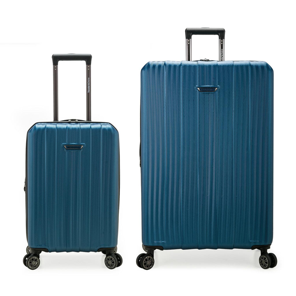 Traveler's Choice Dana Point 2-Piece Expandable Hardshell Luggage Set