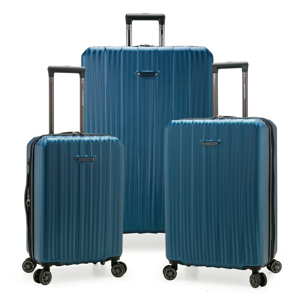 Traveler's Choice Dana Point 3-Piece Expandable Hardshell Luggage Set