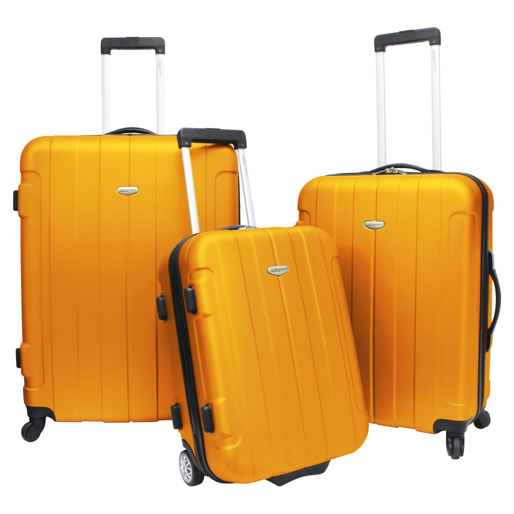 Traveler's Choice Rome 3-Piece Hardshell Spinner Luggage Set