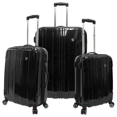 Traveler's Choice Sedona Polycarbonate 3-Piece Expandable Spinner Luggage